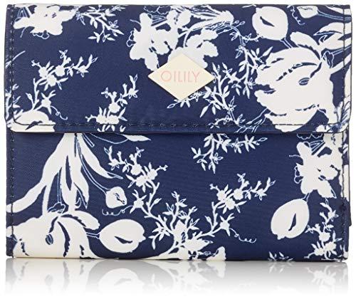 Oilily Damen Vivid Purse Mh10f Geldbörse, Blau (Dark Blue), 1.0x10.0x14.0 cm