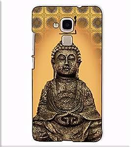 Fuson Designer Back Case Cover for Huawei Honor 5c :: Huawei Honor 7 Lite :: Huawei Honor 5c GT3 (Gautam Buddha Theme)
