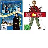 Kevin allein zu Haus/Kevin allein in New York + Zauberhafte Nanny 1+2- 4 Filme -DVDs- SET