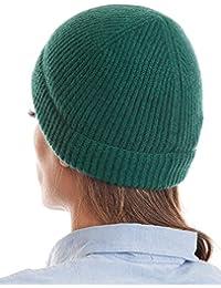 Amazon.it  cappello cashmere - Verde   Cappelli e cappellini ... 8a4bc1dd5aac