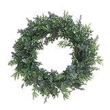 HUAYUH Garland ArtificielleFougère Feuille Fil Vert Artificielle Fleur Vigne Rotin pour Mariage Voiture Décoration Bricolage Guirlande Fleurs