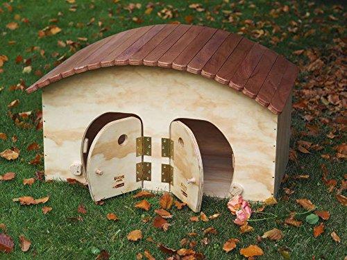 Cuccia per gatti outdoor con tetto tiragraffi Blitzen Hotel WP, 2 comodi posti XL adatto per esterno Made in Italy 100%
