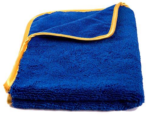 TowelGuys Premium Mikrofasertuch 60x40cm 600GSM - Das Microfasertuch zur optimalen Autopflege zum Polieren, Wachsen, Trocknen und Waschen.