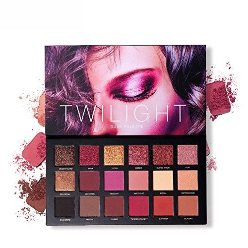 595705fd9 UCANBE 18 Colores Paletas de Sombras de Ojos Paletas de Colores Mate y  Brillantes para Maquillaje