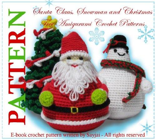 Snowman Christmas Amigurumi Crochet Patterns Ebook