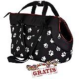 HOBBYDOG TORCWL3 + Ball gratis TRANSPORT BAG Transporttasche für Hunde und Katzen Hundetasche Katzentasche Transporttasche Tragetasche Transportbox (3 verschiedene Größen) (R3 (30 x 58 cm))
