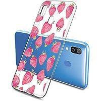 Oihxse Funda Samsung Galaxy J6 2018, Ultra Delgado Transparente TPU Silicona Case Suave Claro Elegante Creativa Patrón Bumper Carcasa Anti-Arañazos Anti-Choque Protección Caso Cover (A10)