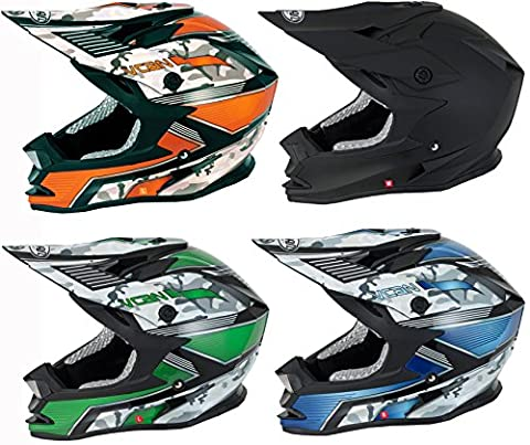 V-CAN V321 Force Sport Nouveau Moteur Off Road Vélo Cycle Crash ATV Quad de motocross Enduro casque ACU