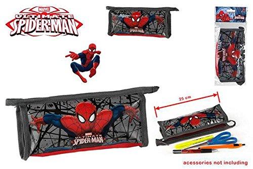DISOK – Estuche Spiderman – Estuches Infantiles, Niños para Comuniones, Bodas y Fiestas de Cumpleaños