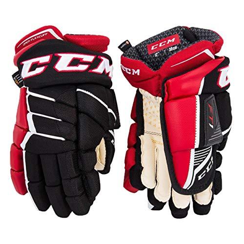 CCM Jetspeed FT1 Handschuhe Senior, Größe:14 Zoll, Farbe:Navy/Weiß