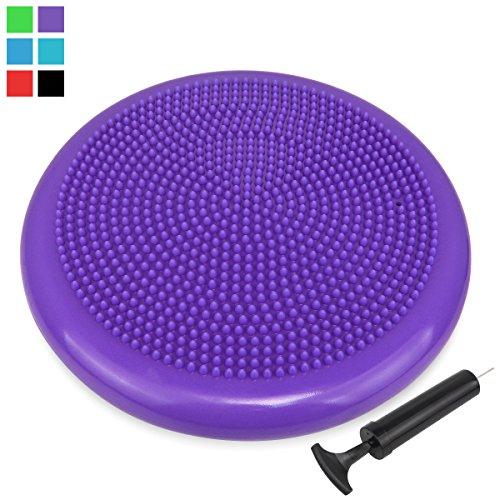 extra-thick-34cm-matte-surface-balance-cushion-air-stability-wobble-board-wobble-cushion-posture-tra