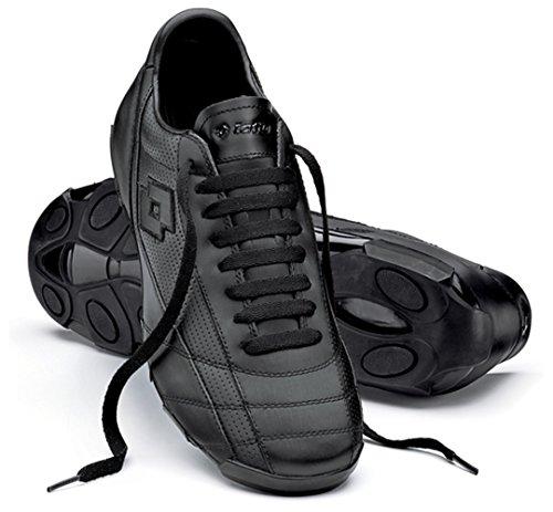 Lotto Zhero 07LTH L Sport Chaussure, unisexe, Noir Noir