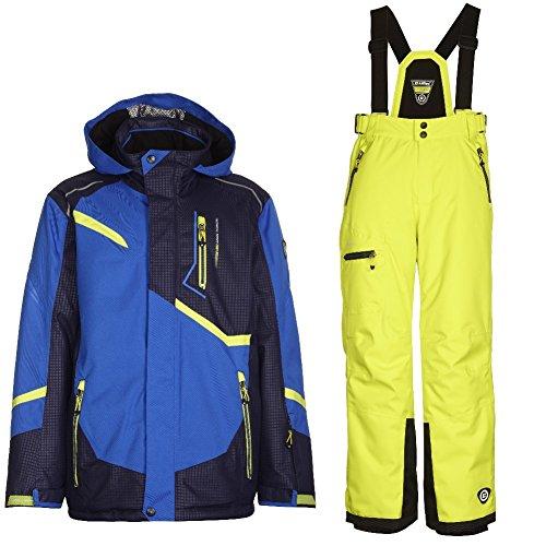 Killtec Chiran Jr - Ski Set Kinder Skianzug, Farbe:Schwarz;Bitte Größe wählen:176