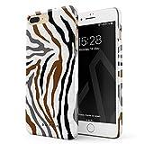 BURGA Coque pour iPhone 7 Plus / 8 Plus Animal Sauvage Wild Zebra Fur Print Safari...