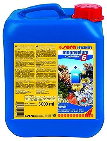 sera 03430 marin Component 6 magnesium 5 Liter - Enthält wichtiges Magnesium