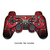 PS3 Pelli Giochi Playstation 3 Vinile Adesivi Controller Dualshock 3 Joystick PS3 Decalcomanie - Widow Maker Black