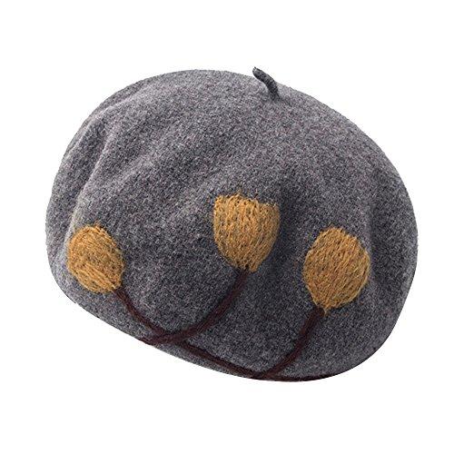 Kangqifen Damen Baskenmütze Wollmütze Warm Barett Mütze Verschiedene (Verschiedenen Nationen Kostüm Von)