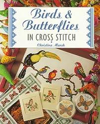 Birds & Butterflies in Cross Stitch