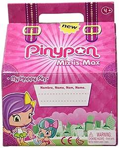 Pinypon - Happy Pin, con 5 figuritas de Pinypon, para niños y niñas de 4 a 8 años (Famosa 700014710)
