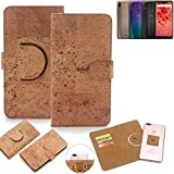 K-S-Trade 360° Cover cork Case for Wiko View 2 Plus |