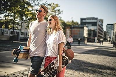 HUDORA Skateboard Brooklyn ABEC 7, FSC 100% - Skateboarding, 12760