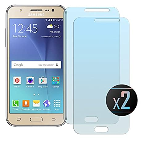 2 x Verre Trempé Film Protection Pour Samsung Galaxy J5 2015 (Transparent) Protecteur d'écran - NEVEQ®. Pour Les Écrans Samsung Galaxy J5 (2015) Transparent (5 in) Pouces Peau Rigide de Protection
