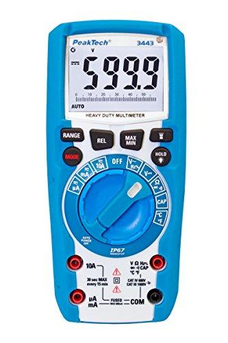 PeakTech Digital Multimeter 3443