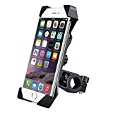 #2: DKP Bike Mobile Holder Mount Bracket with Adjustable Size and 360 Degree Rotate for Motorcycle (Bike-Holder)