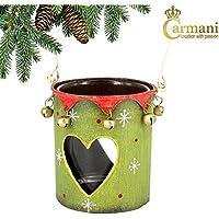 Carmani - Te luce gancio, tradizionale metallo Albero di Natale Decorazioni Hanging