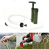 kingnew Pumpe Wasser Filter Luftreiniger Wandern Camping Mini Pure Soldier Tragbarer Notfall