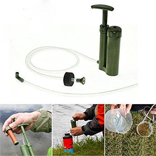 Kingnew Pompe à filtre à eau purificateur d'randonnée Camping Mini Pure Soldat Portable d'urgence