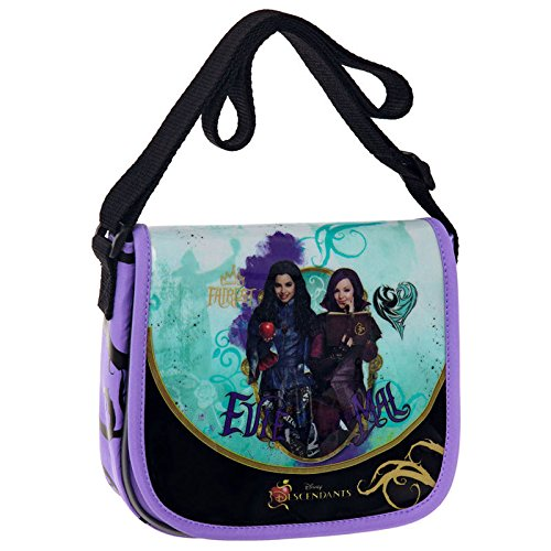 Descendientes-Disney-Bolso-de-mano-con-tapa-y-Mal-Evie-descendientes-Disney