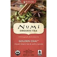 Numi Organic Tea Golden Chai, Full Leaf Black Tea, 18-Count Tea Bag, Garden, Haus, Garten, Rasen, Wartung preisvergleich bei billige-tabletten.eu