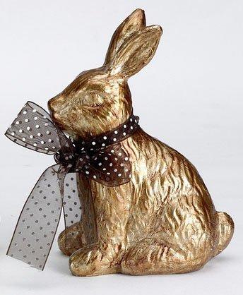 Die spiegelburg, dolce coniglietto pasquale - arredamento, decorazione, oggettistica - colore: marrone - materiale: resina sintetica
