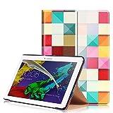 KATUMO® Funda para Lenovo Tab 2 A10-30F/A10-70 Cuero, Flip Case Cover Cubierta Carcasa de Piel para Tablet Lenovo Tab 2 A10-30-Tablet de 10.1