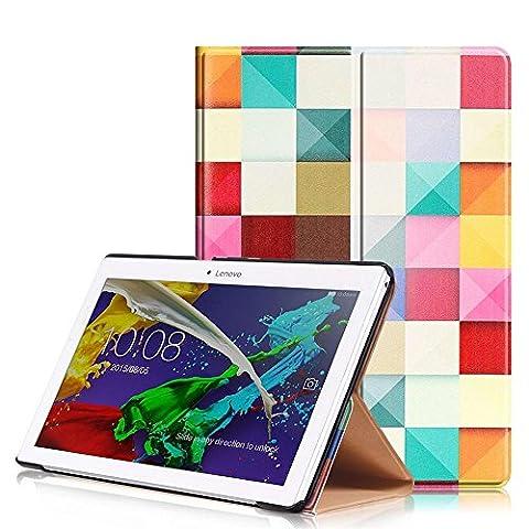 Coque Protection Lenovo Tab 2 A10-30, KATUMO® Pochette Tablette Lenovo TAB 2 A10-30 / A10-70/Tab3 10 Plus / Tab3 10 Busines 10