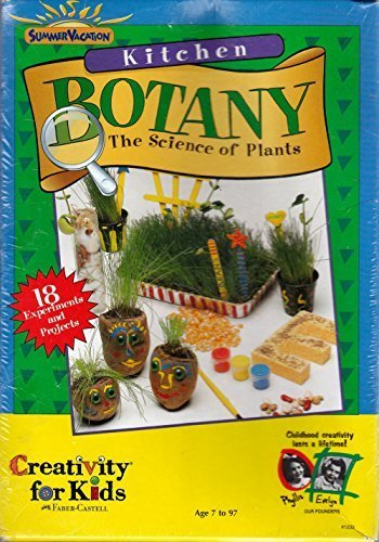 Kitchen Botany The Science of Plants by Faber Castell