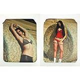 Sexy porno de Star Sweet Sophie neopreno Funda para iPad 2y 3, ambos lados Diseño # 35+ # 36