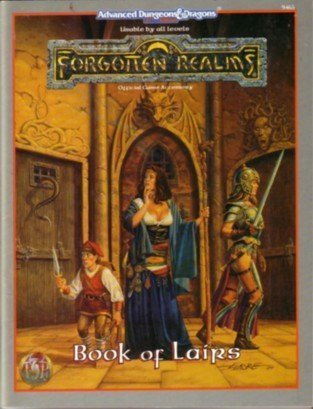 Book of Lairs (Advanced Dungeons & Dragons 2nd Edition / Forgotten Realms) by TSR Inc (January 19,1995) par TSR Inc