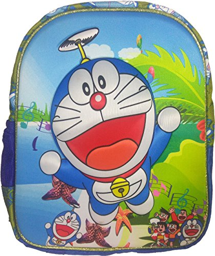 3D Doraemon Dorimon Spiderman, Benten, Ben10, Ironman, Iron Man Blue Children's / kid's Backpack, school bag for class / standard Play School, Pre Nursery, Nursery, KG, UKG, LKG class for boys & girls 8 Liter, 13 Inch. For children ages 2 to 5 years  available at amazon for Rs.649