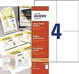 Best Professionnels du logiciel de code à barres - Avery 50 Pochettes Badges Grand Format + 52 Review