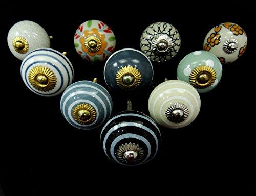 vintage-keramik-fach-zug-drehknopf-einzigartige-mobelknopfe