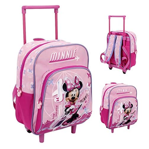 7acd9c8c9c zaino scuola con trolley minnie voyage 29 cm - Face Shop