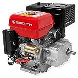 EBERTH 13 PS 9,56 kW Benzinmotor mit Ölbadkupplung (E-Start, 22 mm Wellendurchmesser, Ölmangelsicherung, 1 Zylinder, 4-Takt, luftgekühlt)