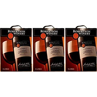 3-x-ROBERTSON-WINERY-CABERNET-SAUVIGNON-3-LITER-Bag-in-Box-Incl-Goodie-von-Flensburger-Handel