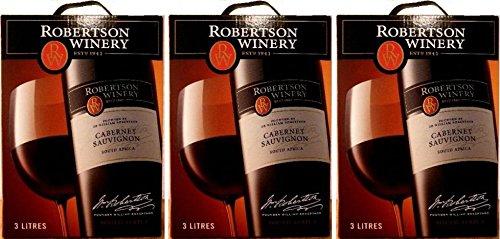 3-x-ROBERTSON-WINERY-CABERNET-SAUVIGNON-3-LITER-Bag-in-Box-Incl-Goodie-von-Flensburger-Handel
