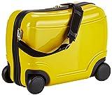 HAUPTSTADTKOFFER Hartschalenkoffer Sitzkoffer Handgepäck Kindergepäck, 23 Liter, Gelb