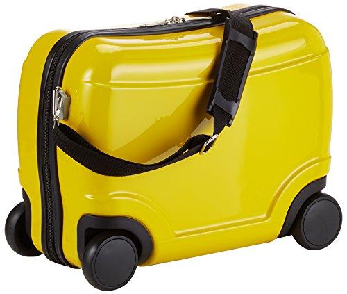 HAUPTSTADTKOFFER - for Kids - Kindergepäck, Kinderkoffer, Sitzkoffer, Handgepäck, 23 Liter, Gelb