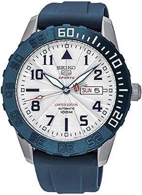 Seiko SRP785K1 - Reloj para hombre, color blanco / gris