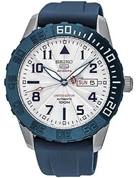 Seiko Herren-Armbanduhr Analog Automatik Kautschuk SRP785K1